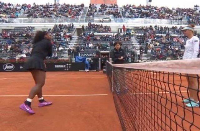 Irina Begu a fost eliminata in semifinalele turneului de tenis de la Roma