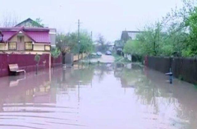 [VIDEO] Vrancea: La Adjudu Vechi a plouat 135 de litri pe metru patrat