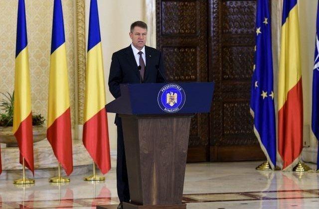 Iohannis: Ne aflam intr-un moment in care este esential sa aparam valorile europene