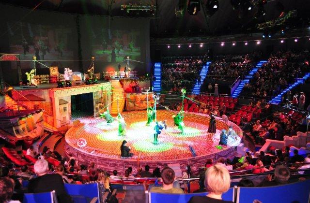 Circul Globus, obligat sa plateasca UCMR-ADA aproape 995.000 de lei pentru muzica din spectacole