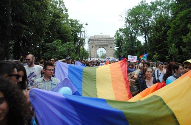 Luni incepe festivalul Bucharest Pride 2016, care se va incheia sambata cu Marsul Diversitatii