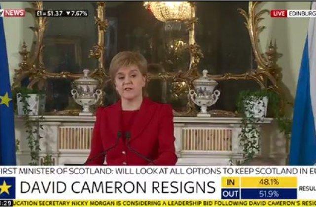 Scotia a inceput pregatirile pentru un nou referendum privind independenta de Marea Britanie