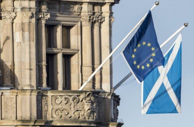 Scotia vrea sa lanseze imediat discutii cu UE pentru a-si proteja locul in blocul comunitar