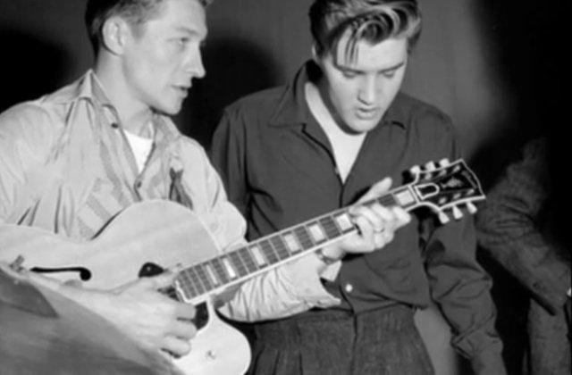 Doliu in lumea muzicii! Scotty Moore, chitaristul lui Elvis ...