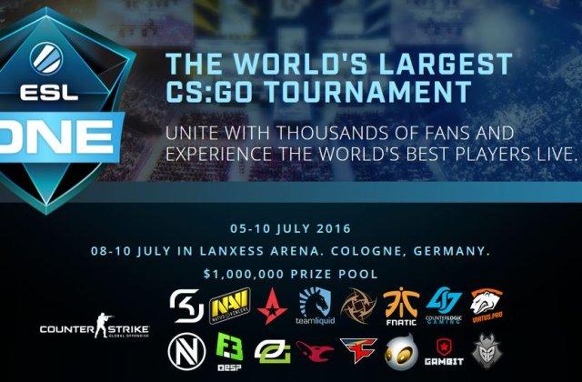Cea mai mare competitie de CS:GO din lume a inceput