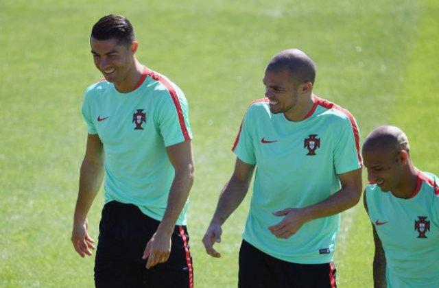 EURO 2016: Fundasul portughez Pepe s-a recuperat si poate evolua in finala cu Franta