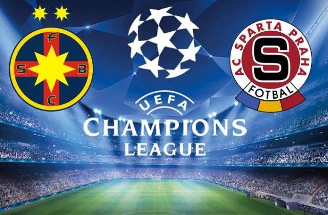 Steaua - Sparta Praga: Laurentiu Reghecampf si-a conturat deja primul 11