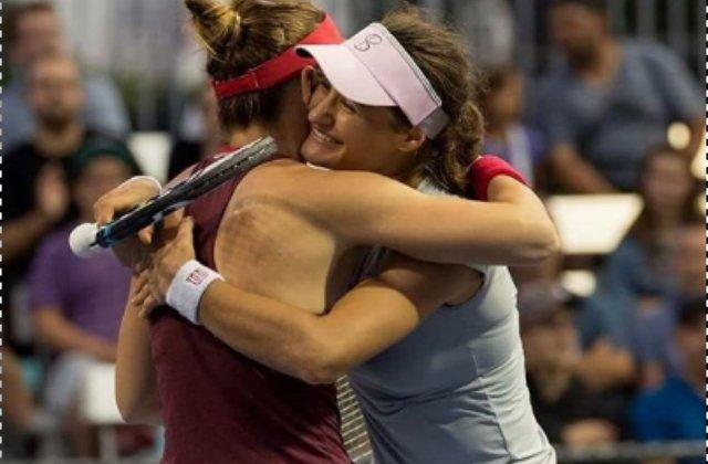 Simona Halep a povestit cum o amuza Monica Niculescu la meciurile de dublu