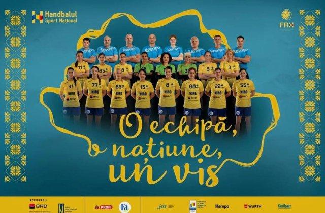 Tricolorele vor prima medalie olimpica pentru handbalul feminin. Programul meciurilor