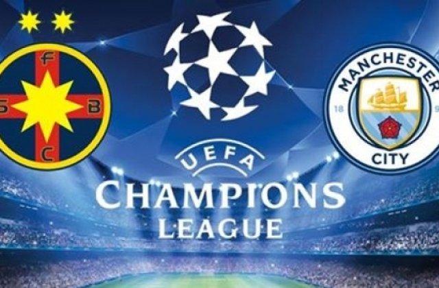 Biletele pentru Steaua - Manchester City au fost puse in vanzare
