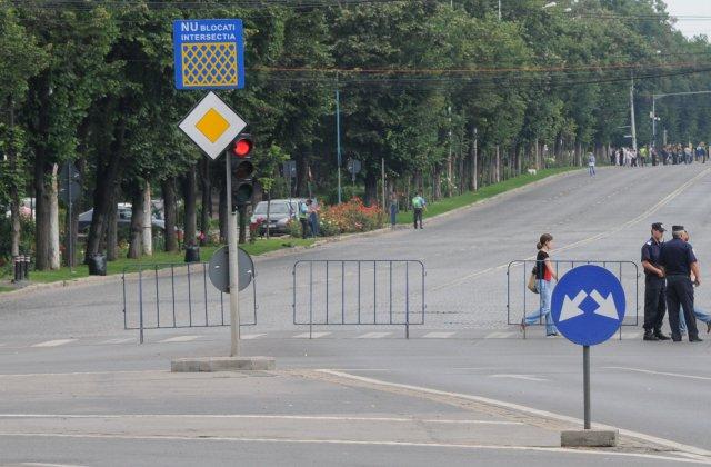 Restrictii de circulatie pe 13 august, in centrul Capitalei, pentru funeraliile Reginei Ana