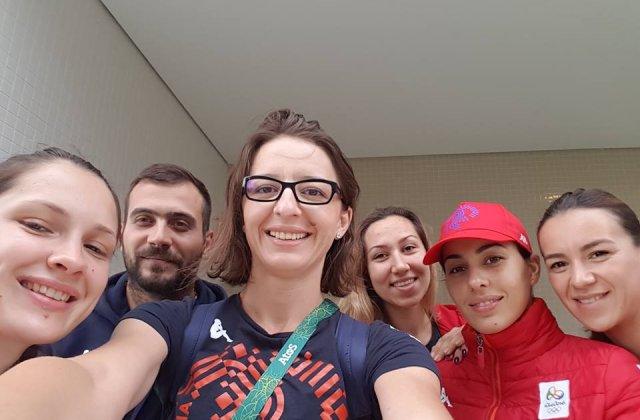 Ana-Maria Popescu povesteste lungul drum de la JO de la Londra la aurul de la Rio