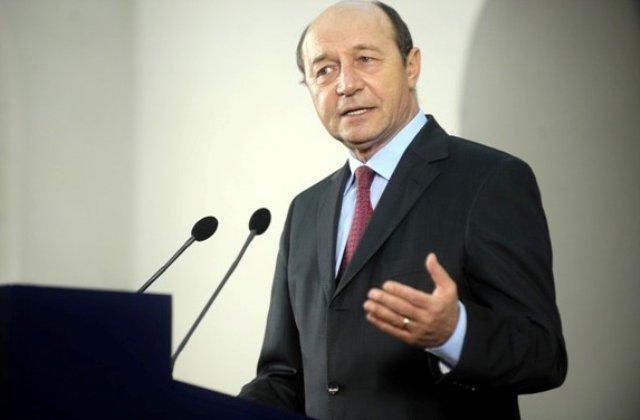 Basescu: Romania nu are un politician care sa poata fi premier mai bun decat mine