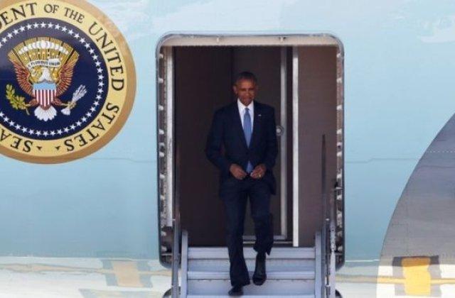 Mesaj sarcastic pe Twitter dupa un incident protocolar la sosirea lui Barack Obama in China