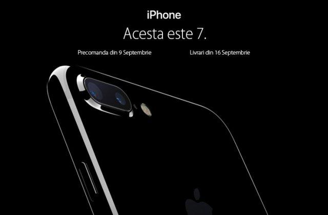 Apple iPhone 7 costa de la aproximativ 3.500 lei, iar 7 Plus, de la 4.100 lei