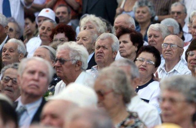 Romania are din ce in ce mai putini pensionari