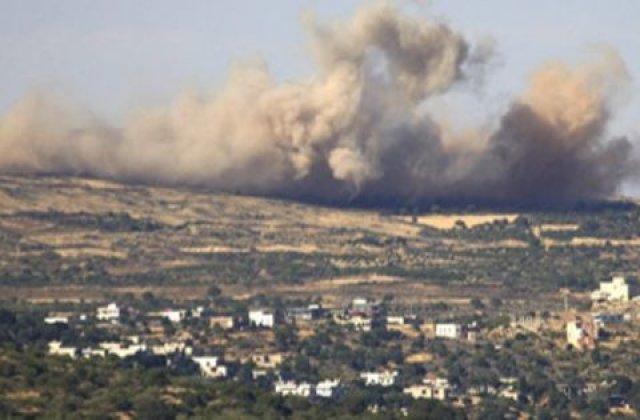 Jihadistii Statului Islamic au doborat un avion al fortelor guvernamentale siriene