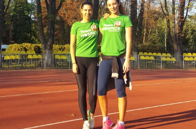Claudia Pavel alearga la maratonul Bucuresti pentru copiii si adultii cu boli incurabile ingrijiti de HOSPICE Casa Sperantei
