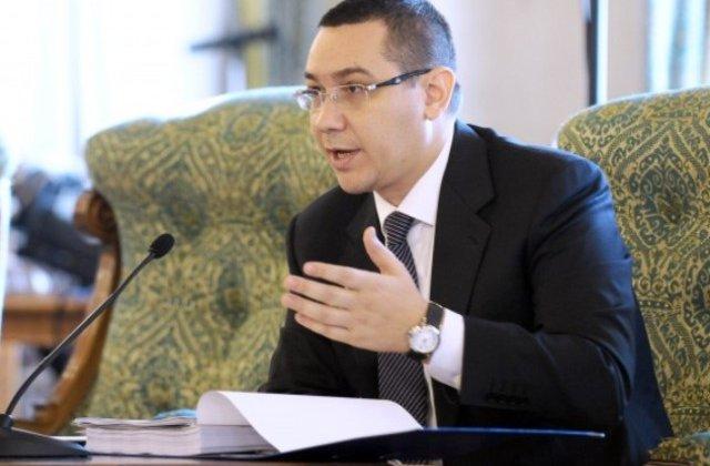 Ponta, mesaj pentru Iohannis: Cineva te sapa sau vrei sa faci gafe