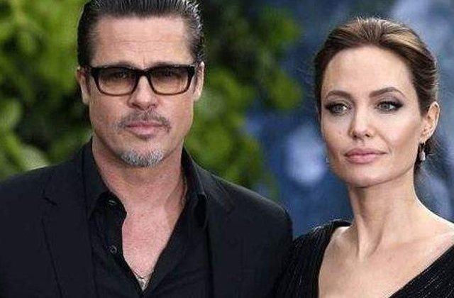 Brad Pitt si-a vazut copiii pentru prima data dupa ce Angelina Jolie a depus actele de divort