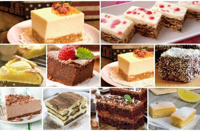 Top 10 retete pentru cele mai simple prajituri
