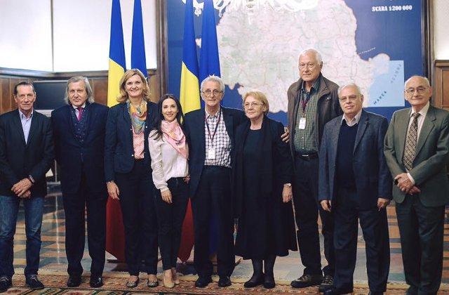 Premierul Ciolos a discutat cu fosti campioni mondiali si olimpici despre salvarea sportului romanesc