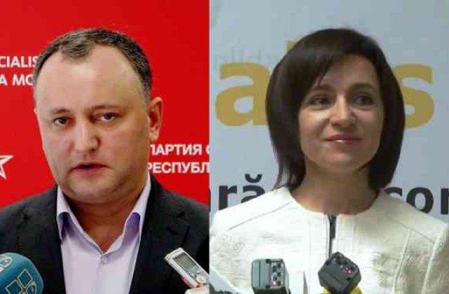 [UPDATE] Primele rezultate din Rep. Moldova il dau castigator pe Dodon, candidatul pro-rus