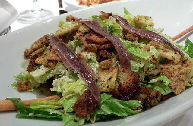 De unde vine salata Caesar?