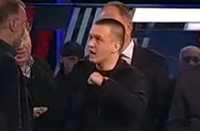 [VIDEO] Invitatul unei emisiuni din Rusia, lovit de moderator dupa ce a laudat Romania