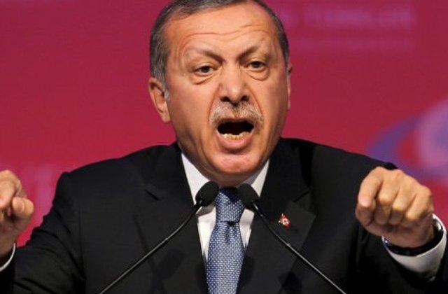 """Erdogan ameninta UE cu deschiderea granitelor Turciei: """"Bagati-va bine in cap asta"""""""