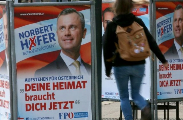 Austria: Extremistii si-au recunoscut infrangerea in alegerile prezidentiale