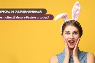 Test special de cultură generală: Cât de multe știi despre Paștele ortodox?